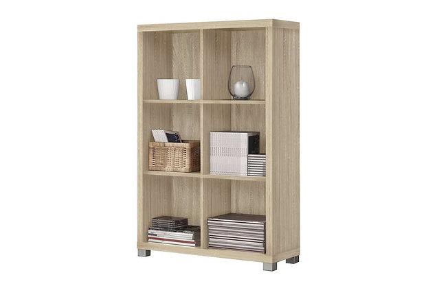 Oscar Low Bookshelf – Light Oak