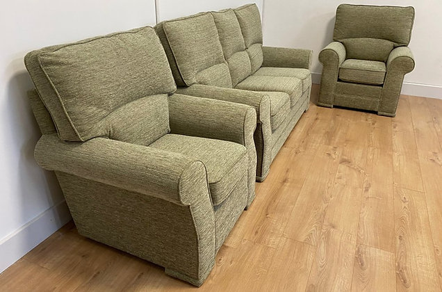 Sandra 3 Seater and two Armchairs