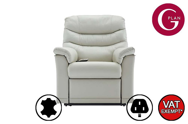 G Plan Malvern Leather Lift & Tilt Recliner Chair