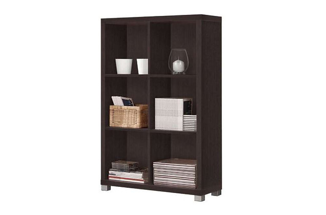 Oscar Low Bookshelf – Wenge