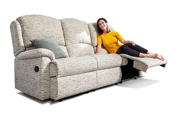 Sherborne Virginia Standard 3 Seater Recliner Sofa