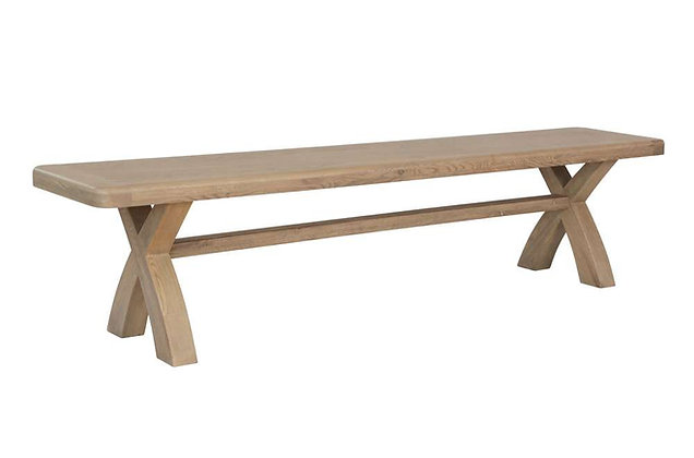 Toulouse 2m Cross Leg Dining Bench