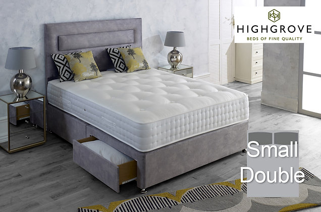 Highgrove Mayfield Ortho Small Double Divan Bed
