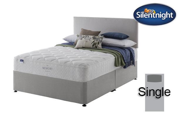 Silentnight Miracoil Seraph Memory Single Divan Bed
