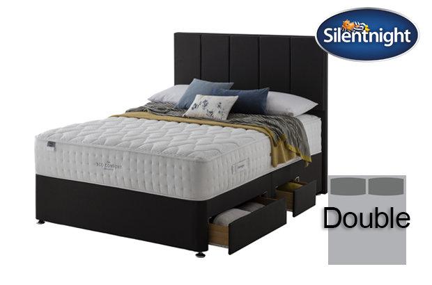 Silentnight Mirapocket Ivory Eco Comfort 1400 Double Divan Bed