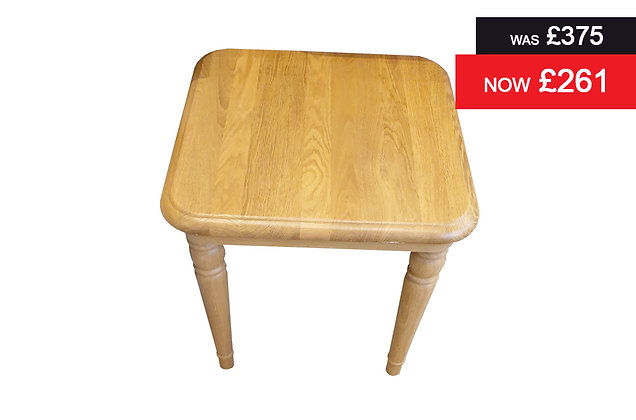Lamont Lamp Table - Oak