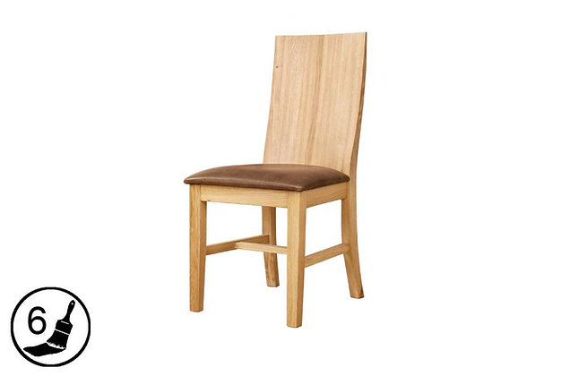 Florence Dining Chair - Brown Seat