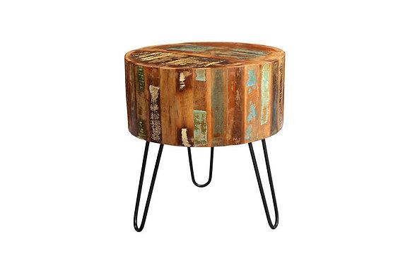 Portofino Drum Side Table