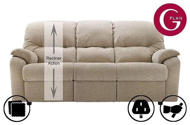 G Plan Mistral 3 Seater Left Hand Facing Single Recliner Sofa