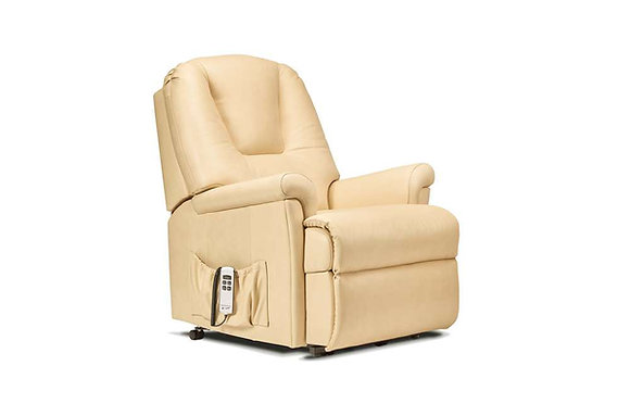 Sherborne Milburn Leather Petite Lift & Rise Care Recliner Chair