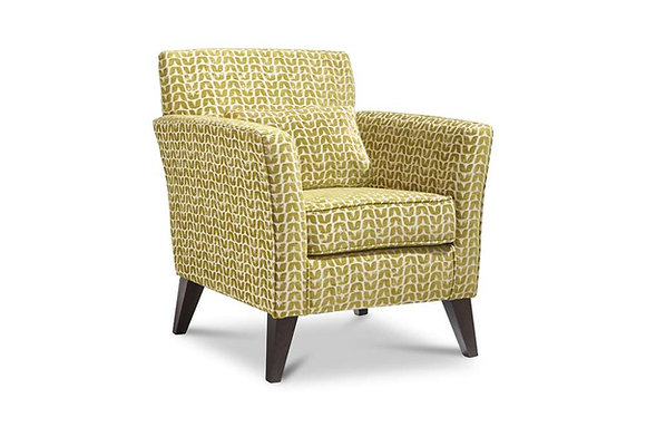 Compton Accent Chair - Dark Legs