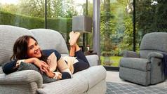 Sherborne Nevada 3 Seater Fabric Sofa & Fabric Armchair