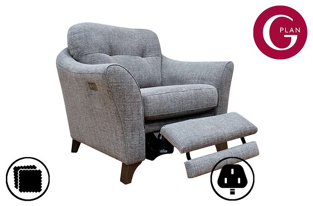 G Plan Hatton Chair With Power Foot Rest