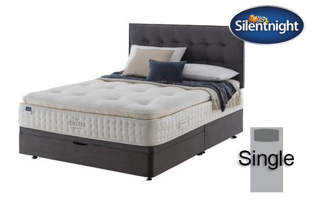 Silentnight Miracoil Elixir Geltex Pillow Top Single Divan Bed
