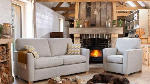 Zurich 3 Seater Sofa & Armchair