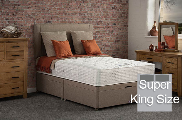 Boston Ortho Super King Size Divan Bed