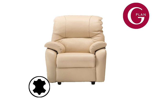 G Plan Mistral Leather Small Armchair