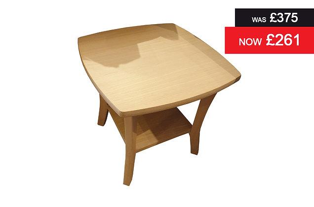 9135 Campaign Lamp Table - Oak