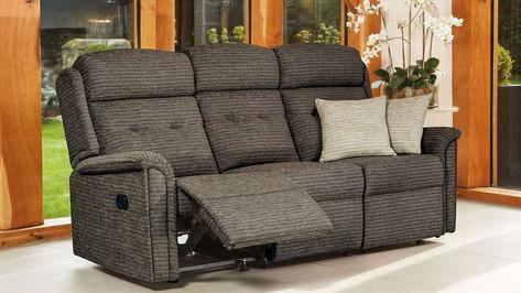 Sherborne Roma 3 Seater Recliner Sofa