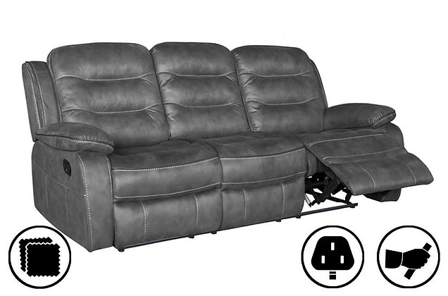 Dakota 3 Seater Recliner Sofa