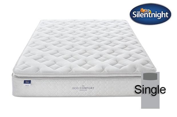 Silentnight Miracoil Laila Eco Comfort Pillow Top Single Mattress