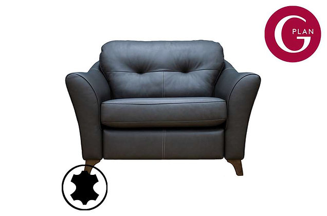 G Plan Hatton Leather Snuggler Sofa