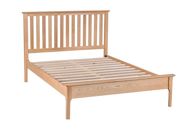 Bembridge Oak 135cm Double Bedstead