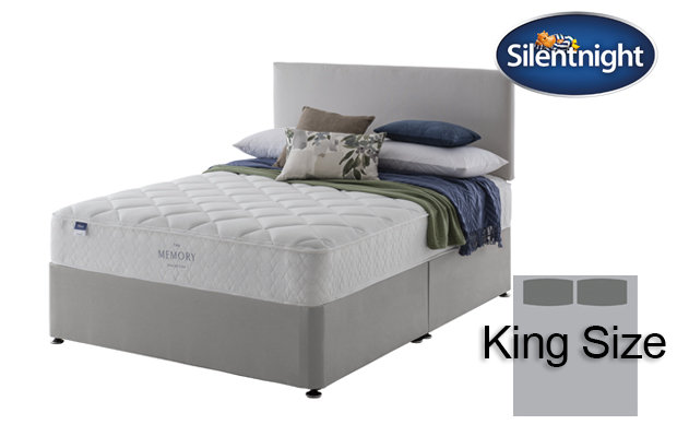 Silentnight Miracoil Seraph Memory King Size Divan Bed