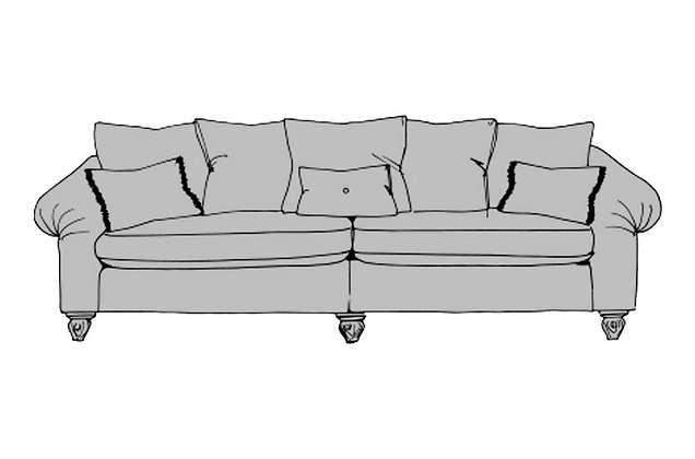 Inca Grand Split Sofa