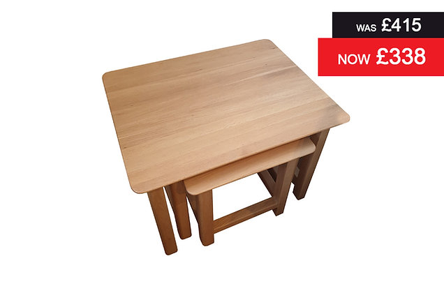 Charnwood Nest of three tables