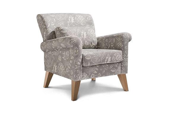 Bloxam Accent Chair - Light Legs