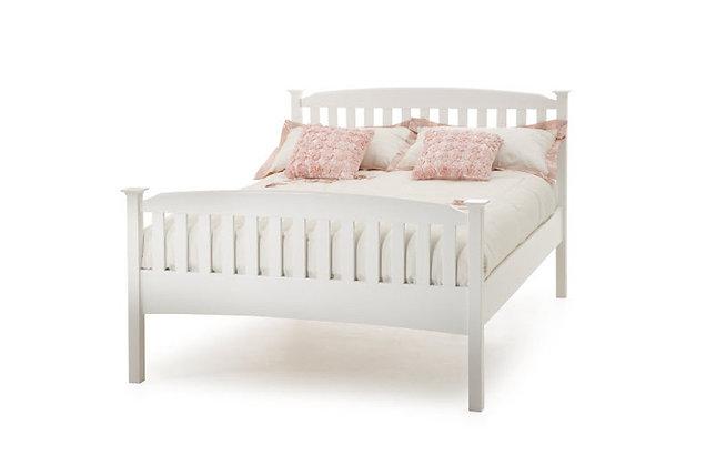 Eleanor High Foot End Bedstead – Opal White
