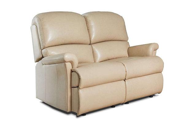 Sherborne Nevada Leather Small 2 Seater Sofa