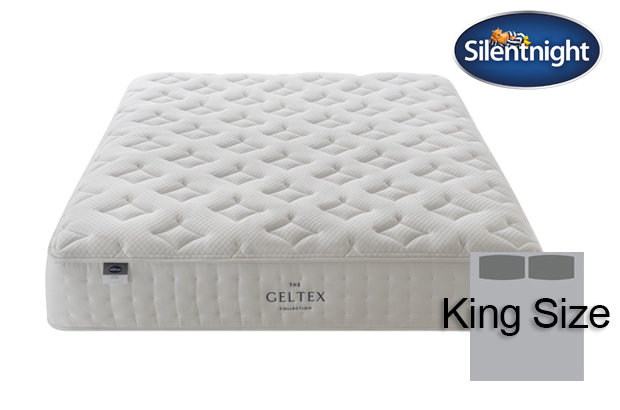 Silentnight Mirapocket Pastel Geltex 1000 King Size Mattress