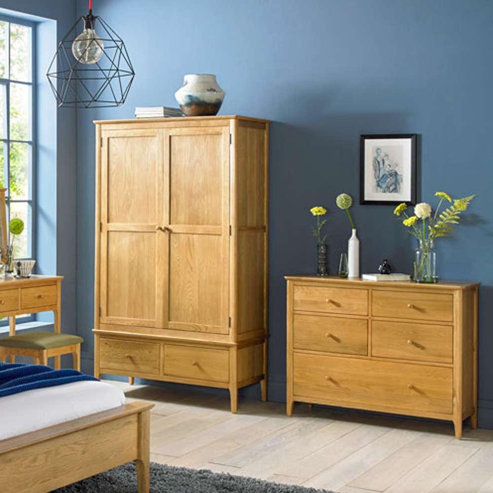 Ronnie Oak Bedroom Furniture