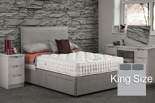 Pinnacle Ortho King Size Divan Bed
