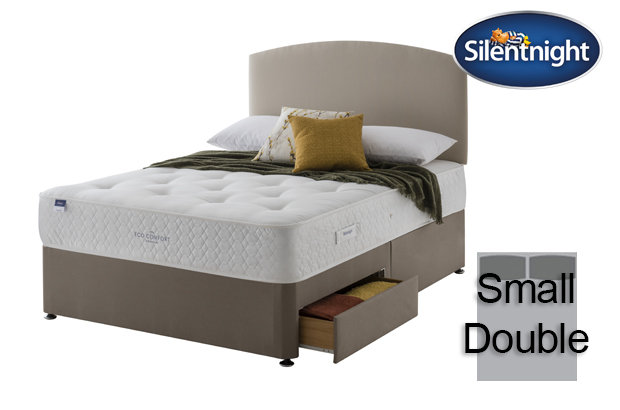 Silentnight Miracoil Saffron Eco Comfort Small Double Divan Bed