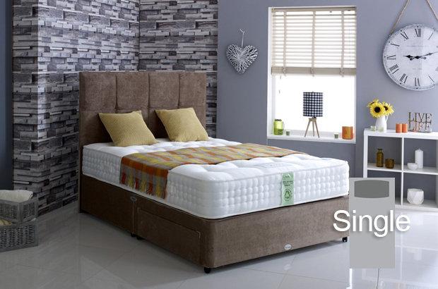 Ultimate Natural 3000 Single Divan Bed