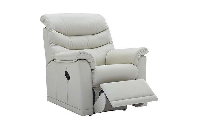 G Plan Malvern Leather Recliner Chair