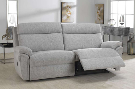 Ludlow 3 Seater Fabric Recliner Chair