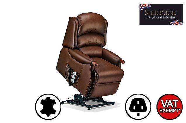 Sherborne Malham Leather Small Lift & Rise Care Recliner Chair