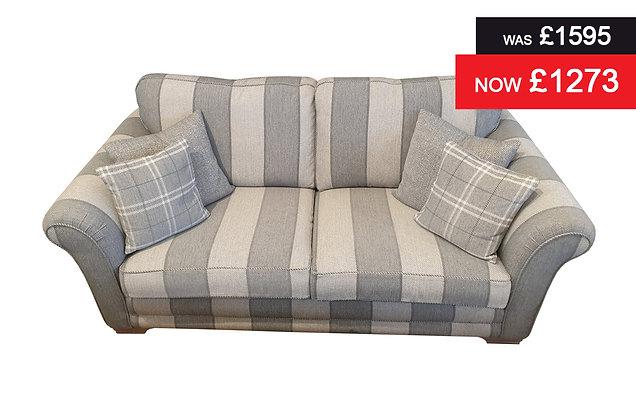 Monaco 3 Seater Sofa - Seamist Stripe
