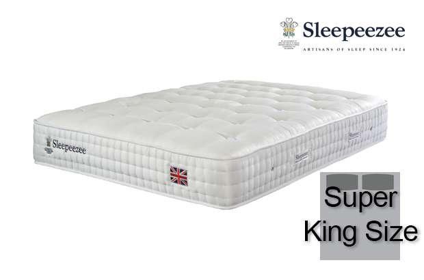 Sleepeezee Perfectly British Regent 2600 Super King Size Mattress