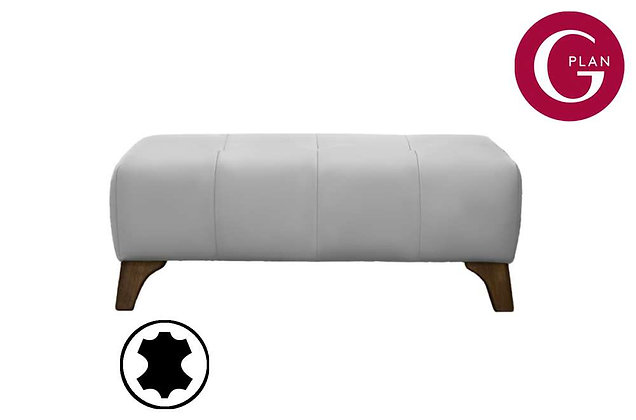 G Plan Hatton Leather Footstool