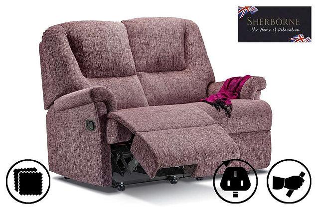 Sherborne Milburn 2 Seater Recliner Sofa