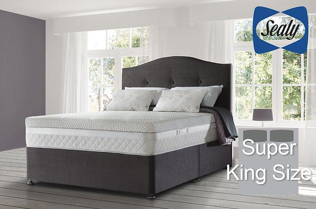 Sealy Hybrid Ultima Pocket 2800 Super King Size Divan Bed