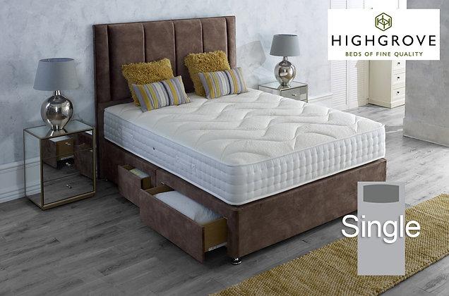 Highgrove Ambassador 2000 Series Single Divan Bed