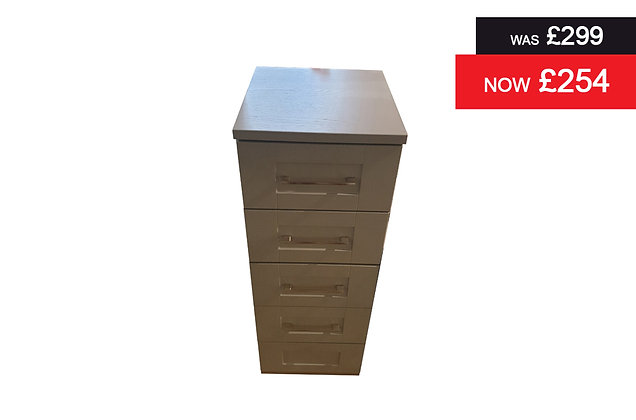 Clifton 4 Drawer Chest - Grey