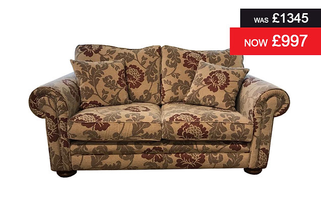 Naples 2 Seater Sofa in Heather Floral