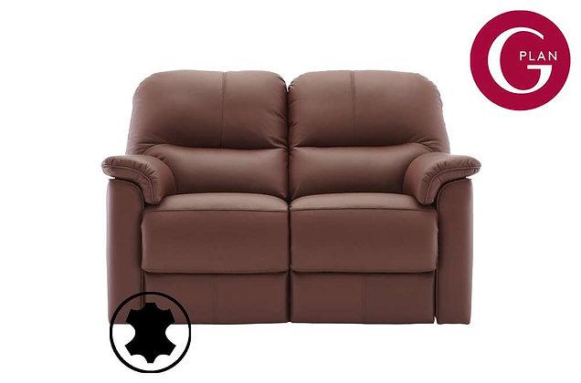 G Plan Chadwick Leather 2 Seater Sofa
